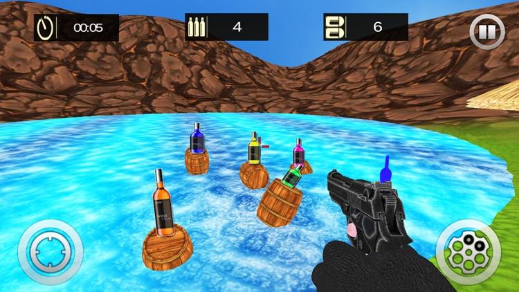 Real Bottle Shooting Expert Gun Shooter screenshot-3