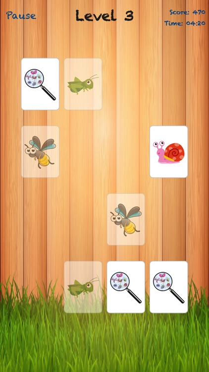 Bugland - Card Matching Game screenshot-2