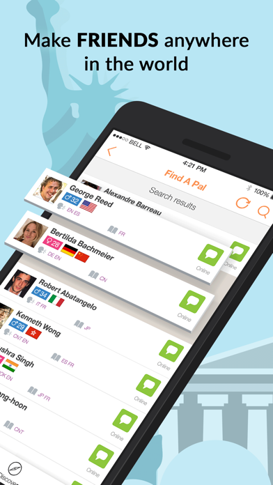 Top 10 Apps like Doongle - 1Mil Global Penpal for iPhone & iPad