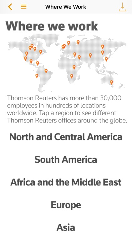 Thomson Reuters Our Story screenshot-3