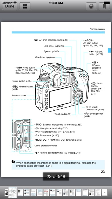 Canon Camera Handbooks