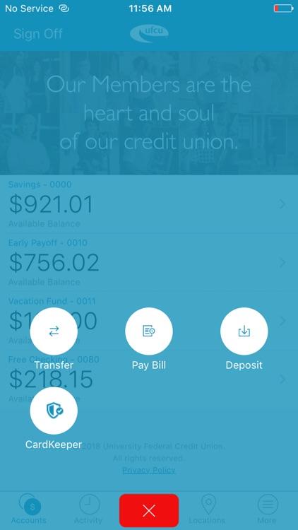UFCU Mobile screenshot-3