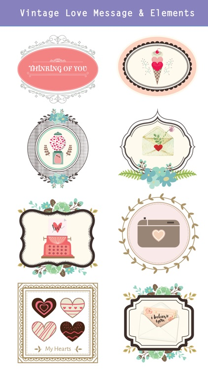 Lovely & Sweet Stickers Pack screenshot-3