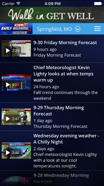 KSPR Weather screenshot-1