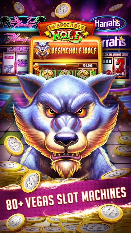 Vegas Downtown Slots & Words screenshot-0