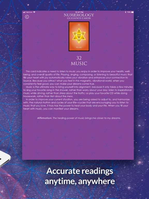Numerology Guidance Cards screenshot 10