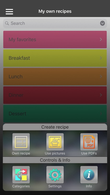Own recipes screenshot-1