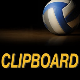 SoloStats Clipboard Volleyball