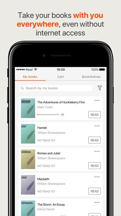 Read the best books online screenshot-4
