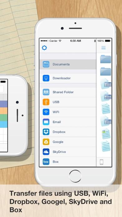 Screenshot for iSpreadsheet™ in Lebanon App Store