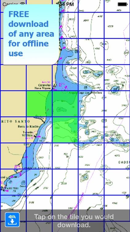 Aqua Map Brazil - Marine GPS screenshot-4