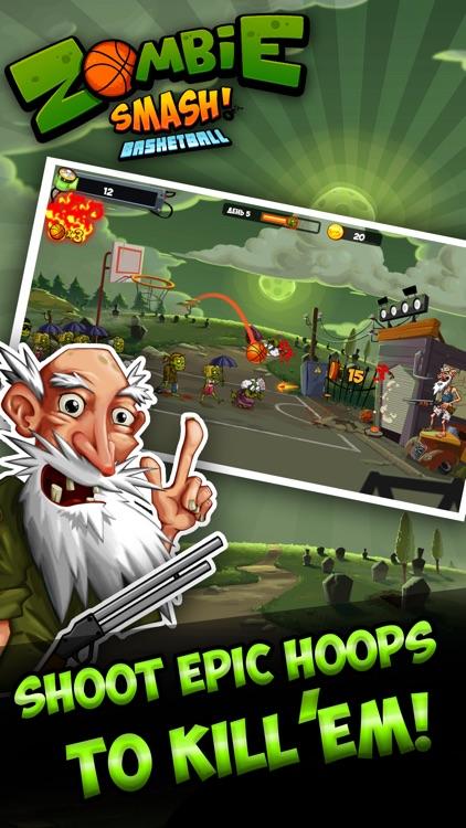 Zombie Smash Basketball - Tower Defense!