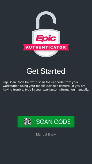 Epic Authenticator Screenshot