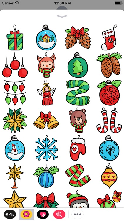 Snowy Winter Stickers