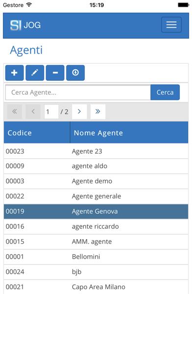 Screenshot of Gestionale JogPlus2
