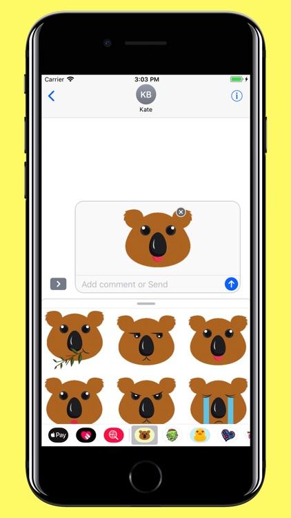 Koala Smiley - Bear emoji