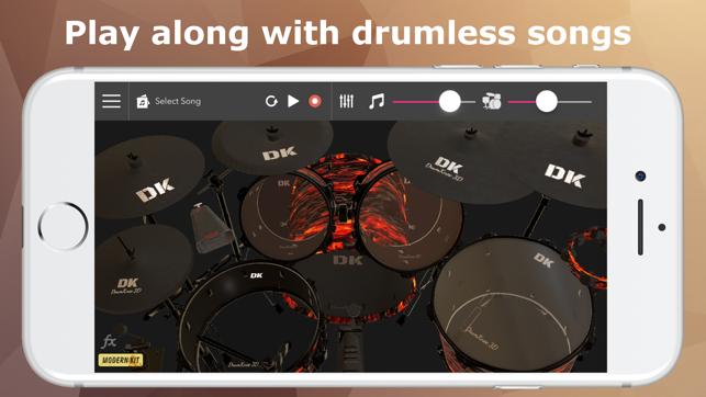DrumKnee Drums 3D - Drum pad 4+