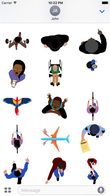 Hellocopter -Animated Stickers screenshot-3