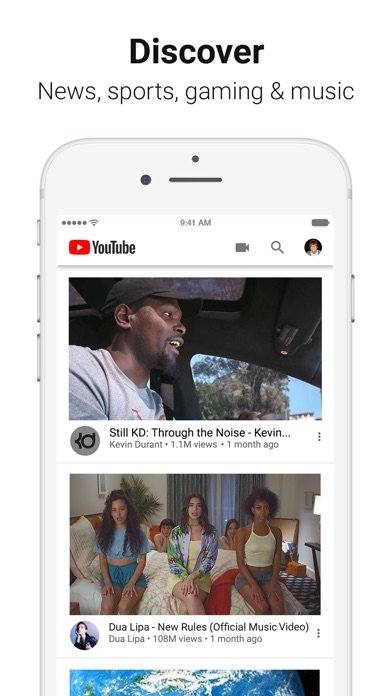 YouTube: Watch, Listen, Stream iPhone