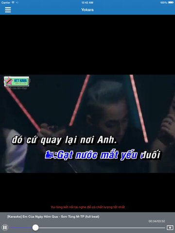 Yokara - Sing and Record Free Video Karaoke for Youtube screenshot