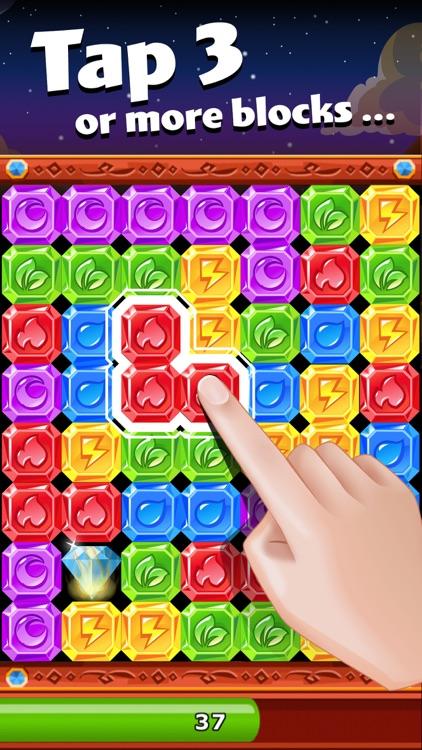 Diamond Dash - Tap the blocks! screenshot-0