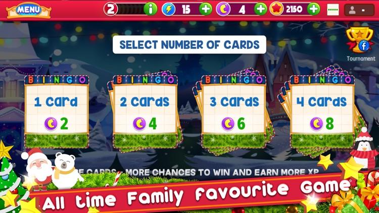 Bingo Christmas: Holiday Bingo screenshot-3