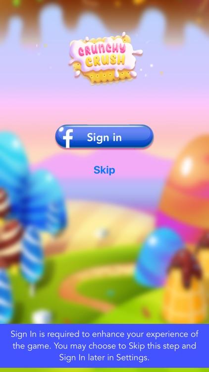 Crunchy Crush - Match 4 Games! screenshot-3