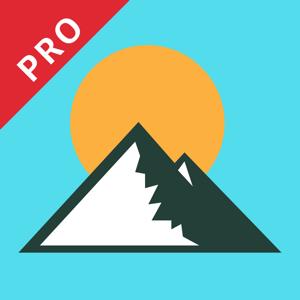 Altimeter GPS Pro- Hike & Trek app