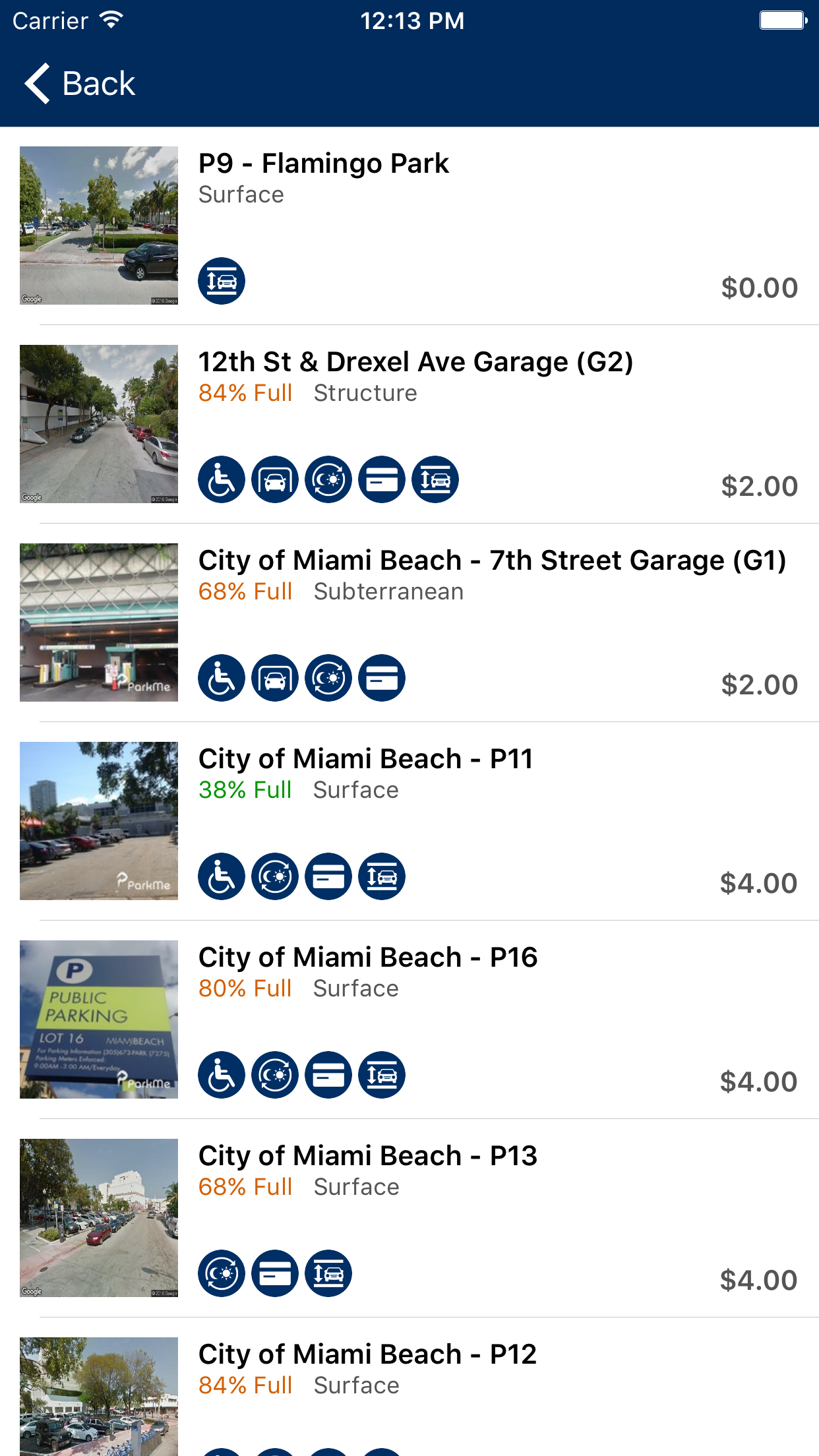 ParkMe - Miami Beach Screenshot