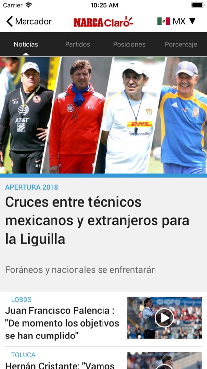 MARCA Claro screenshot-0
