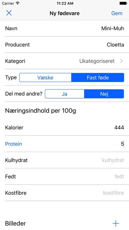 kalorietæller online gratis