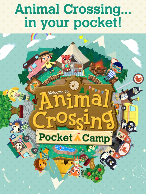Animal Crossing: Pocket Camp на iPad