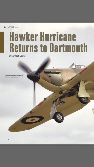 Revue Airforce Magazine screenshot four