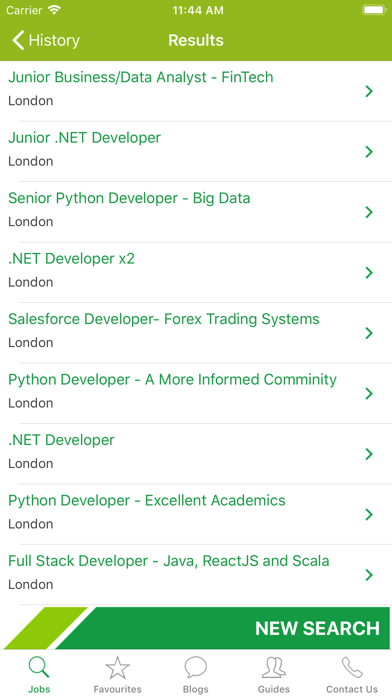 IT Jobs UK screenshot three
