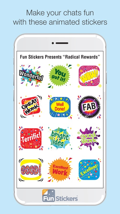Radical Rewards iSticker screenshot-1