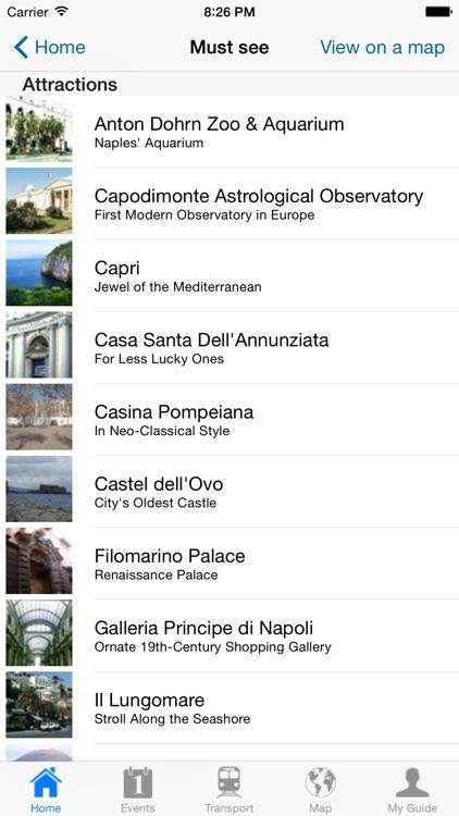 Naples Travel Guide Offline screenshot-3