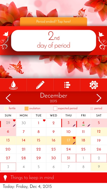 My Calendar: Period Tracker