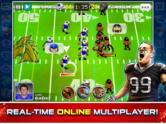 Football Heroes Pro Online - NFL Players Unleashed screenshot 6