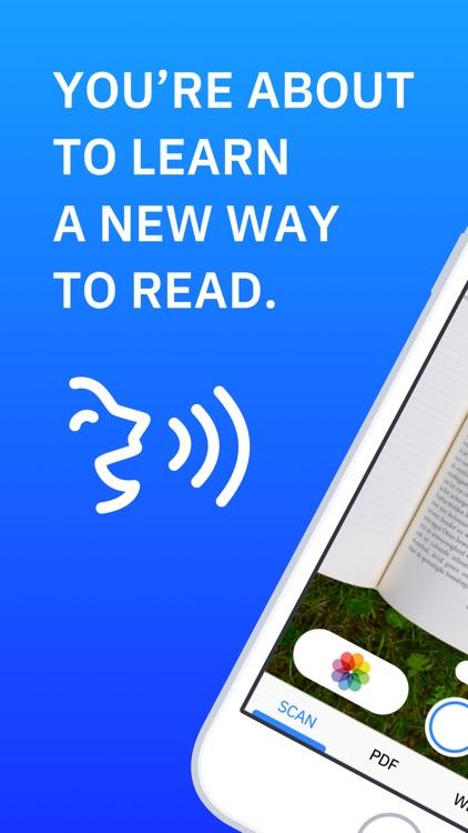 Speechify - Text To Speech OCR screenshot-0
