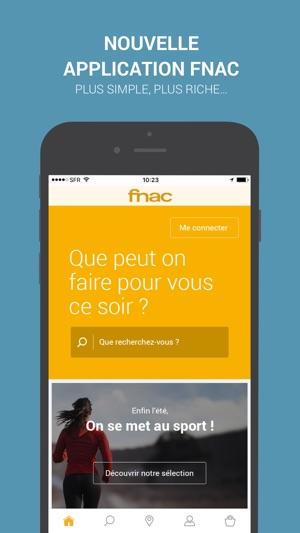 Fnac Achat En Ligne Dans L App Store