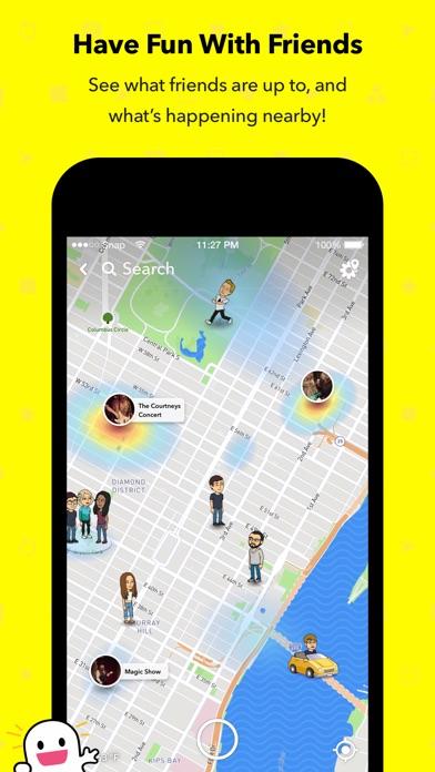 Snapchat app image