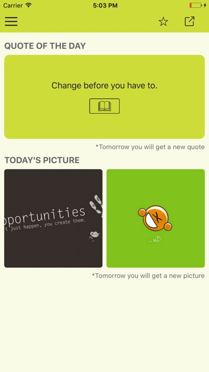 Daily confidence quotes & motivational wallpapers screenshot-3