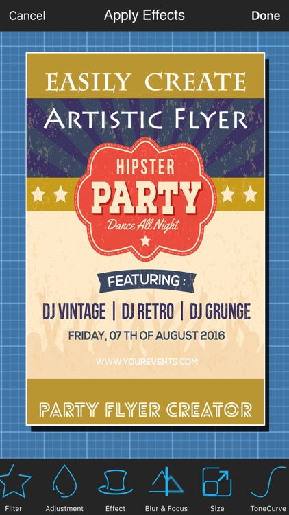 Party Flyer Creator by Tech Box Ltd