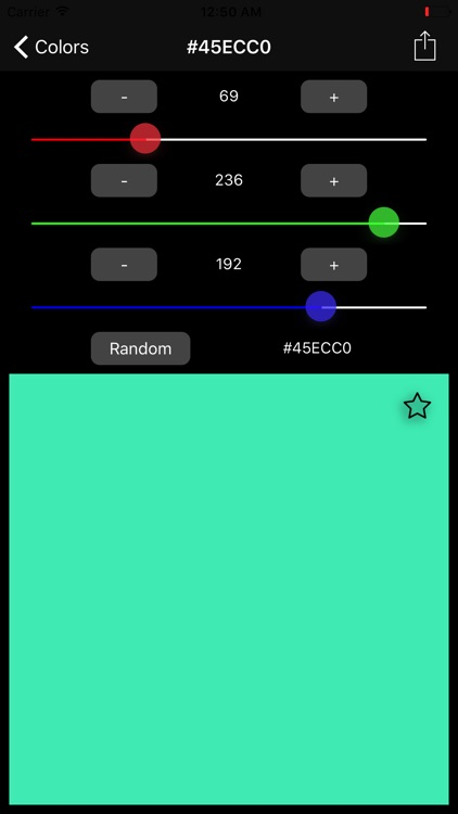 Hex Color Codes screenshot-3