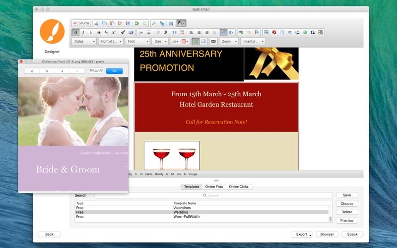 Bulk Email Screenshot - 2