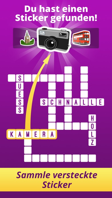 One Clue CrosswordScreenshot von 3