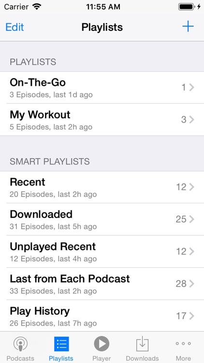 PodCruncher Podcast Player App screenshot-4