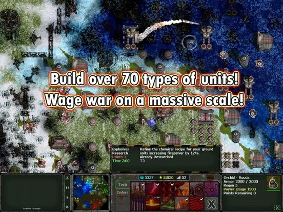 Screenshot #2 for Land Air Sea Warfare HD RTS