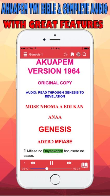 Twi Bible Akuapem screenshot-0