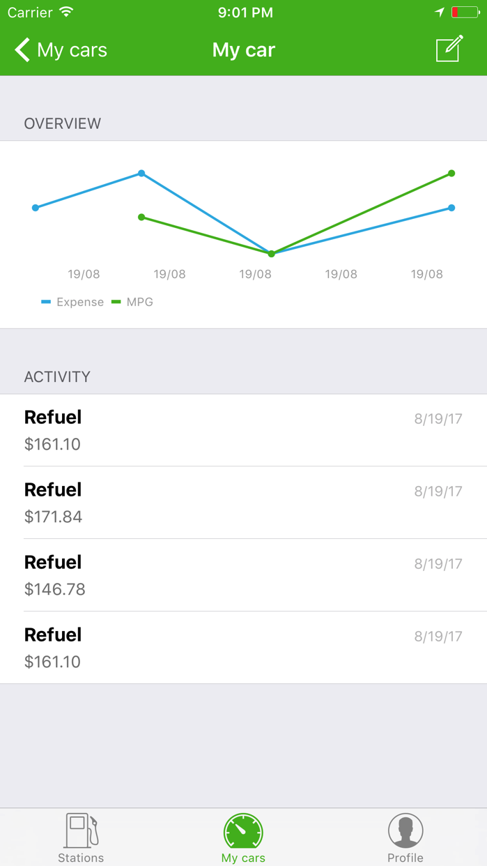 Fuelzee - Pay less for gas Screenshot